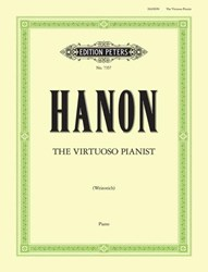 Imagem de Hanon The Virtuoso Pianist Edition Peters EP 7357