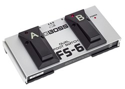 Imagem de Pedal Boss Dual Foot Switch FS-6