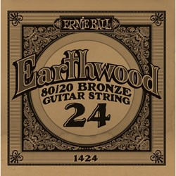 Imagem de Corda para Guitarra Acústica Ernie Ball Earthwood 80/20 Bronze Alloy .024 1424