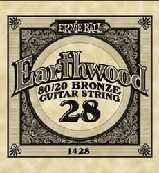 Imagem de Corda para Guitarra Acústica Ernie Ball Earthwood 80/20 Bronze Alloy .028 1428