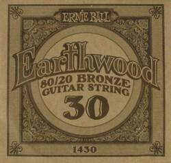 Imagem de Corda para Guitarra Acústica Ernie Ball Earthwood 80/20 Bronze Alloy .030 1430