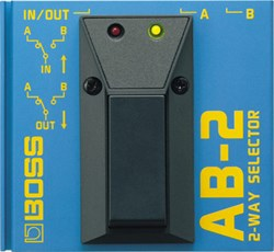 Imagem de Pedal Boss Foot Switch 2-Way Selector AB-2