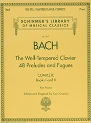 Imagem de The Well Tempered Clavier J. S. Bach