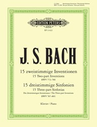 Imagem de Two and Three Part Inventions J. S. Bach BWV 772-801